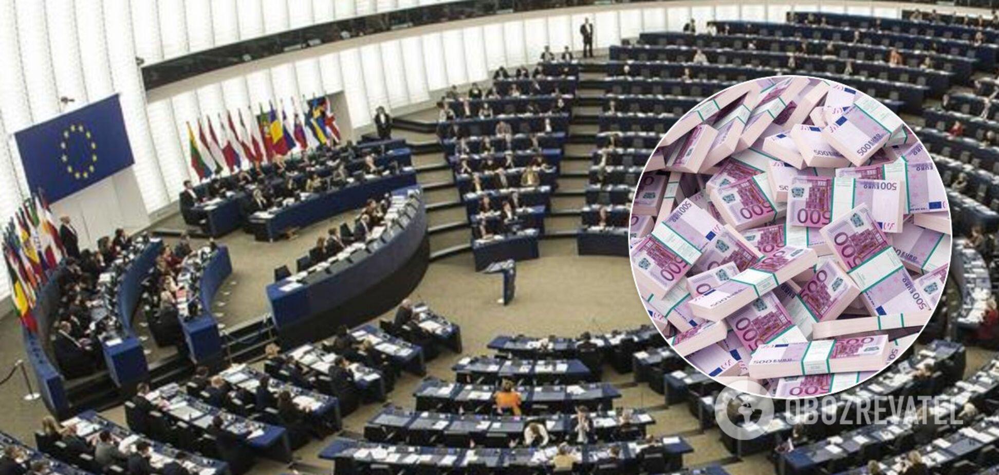 Європарламент терміново проголосує питання про надання Україні 1,2 млрд євро
