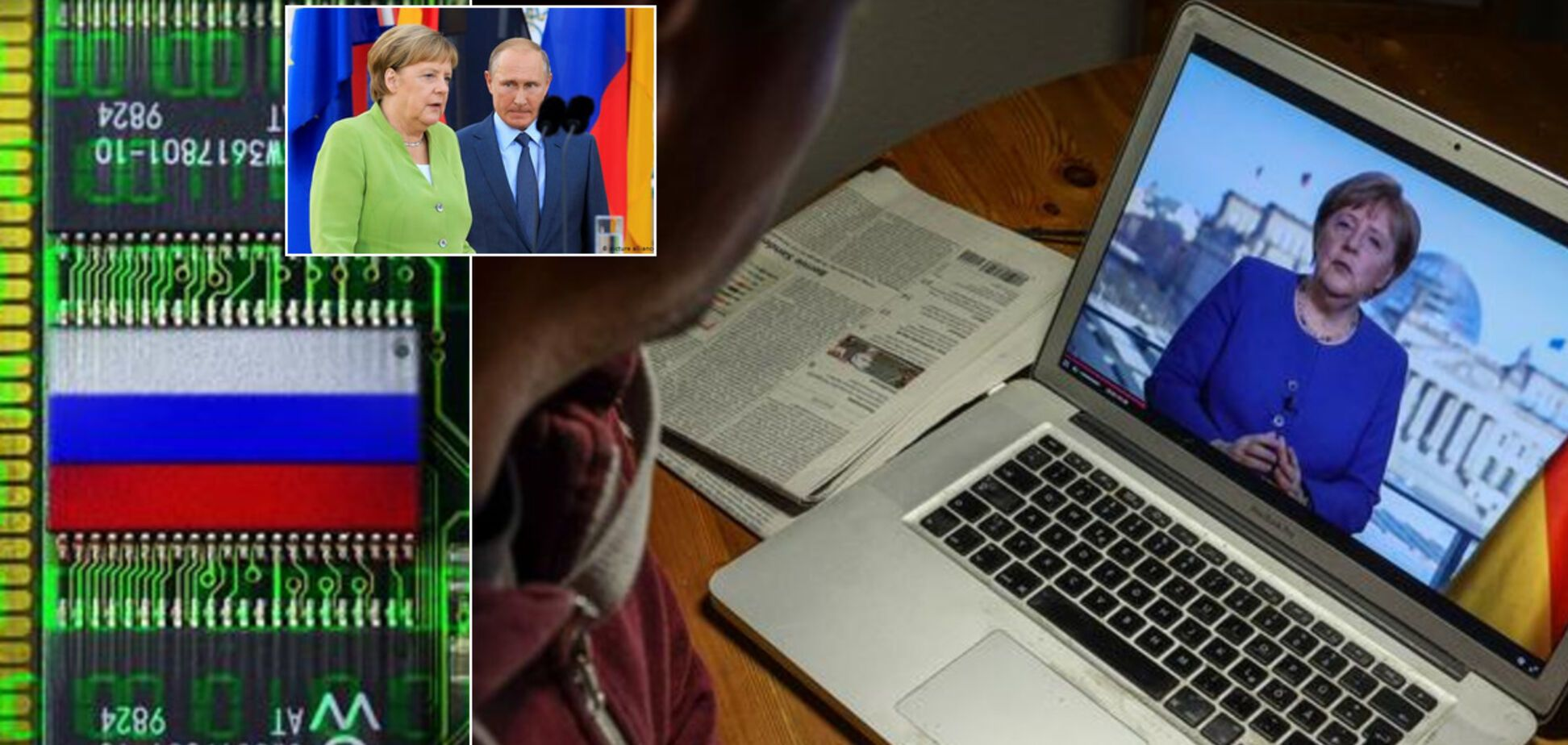 'Больно осознавать': Меркель заявила, что имеет веские доказательства взлома её почты Россией