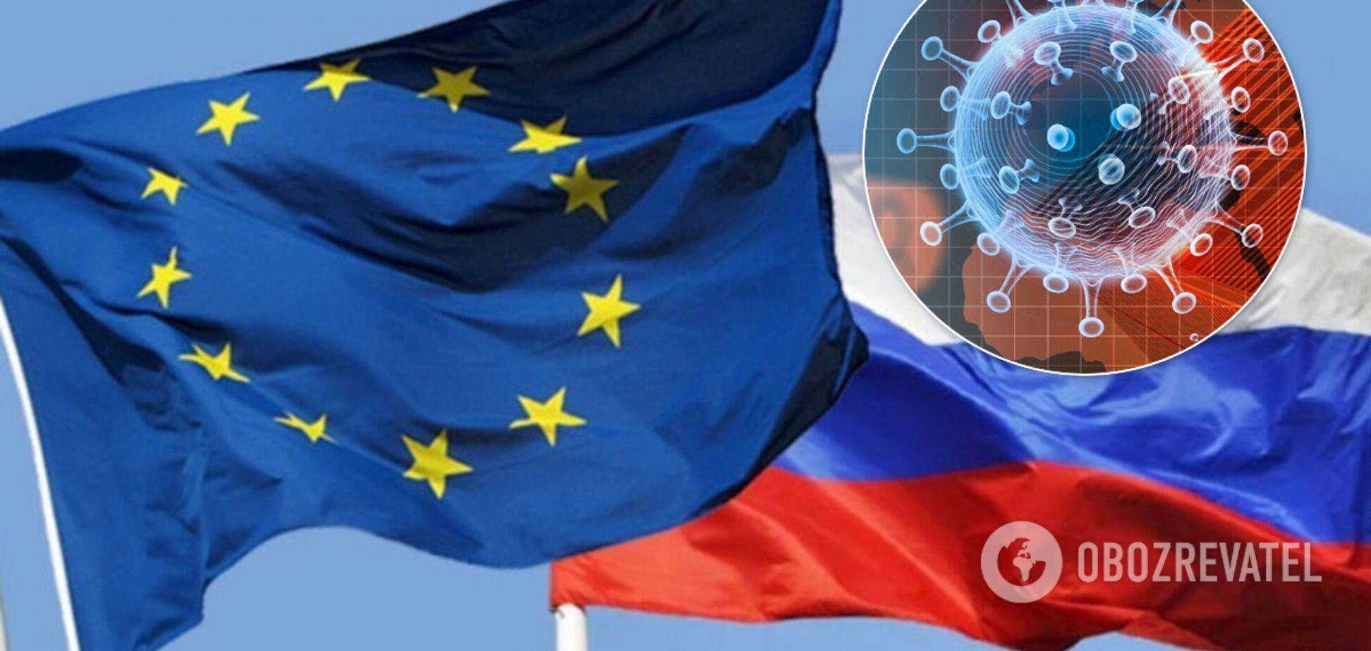 Санкции не отменят: в ЕС ответили на заявления России о COVID-19