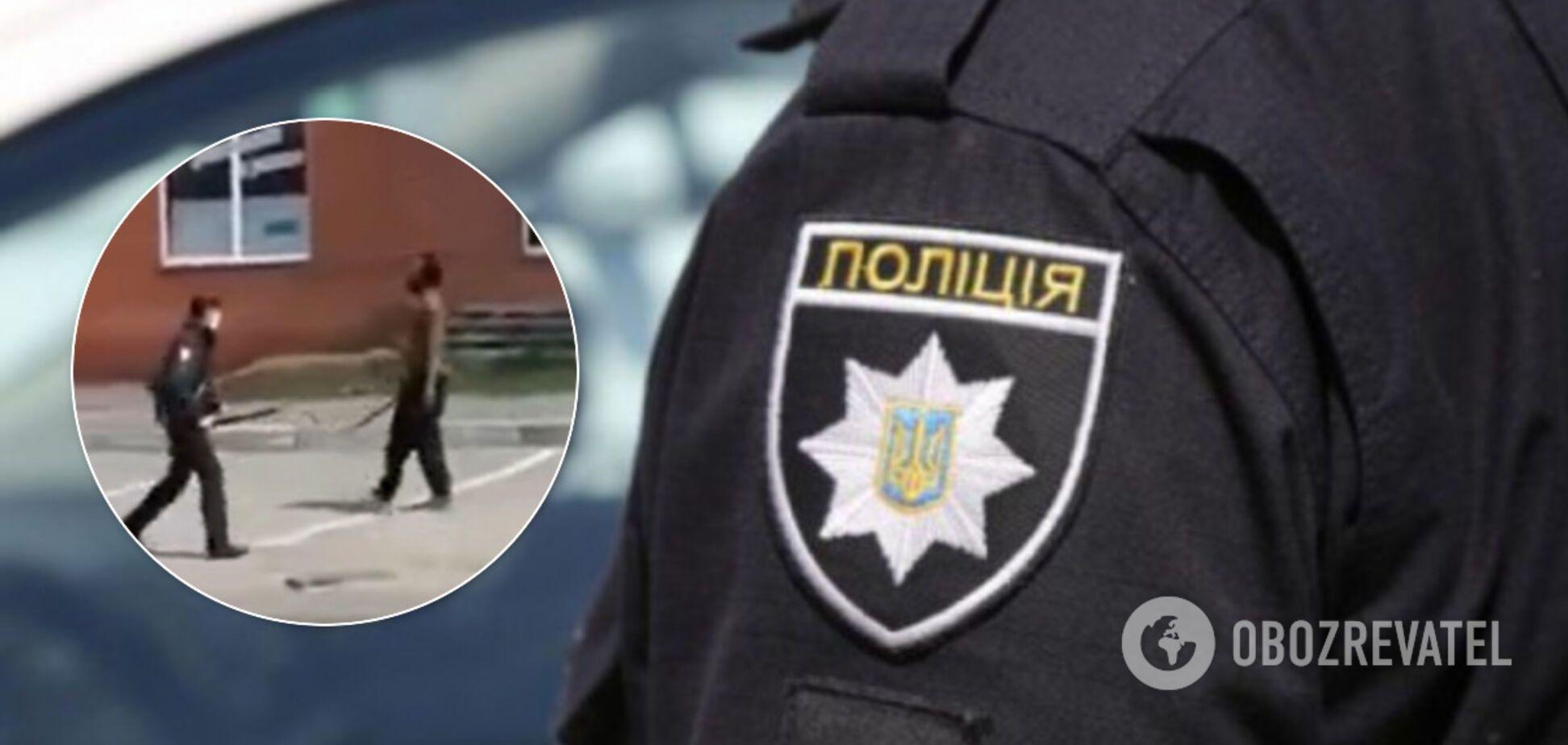 У Харкові іноземець побив поліцейського через масковий режим. Інцидент потрапив на відео