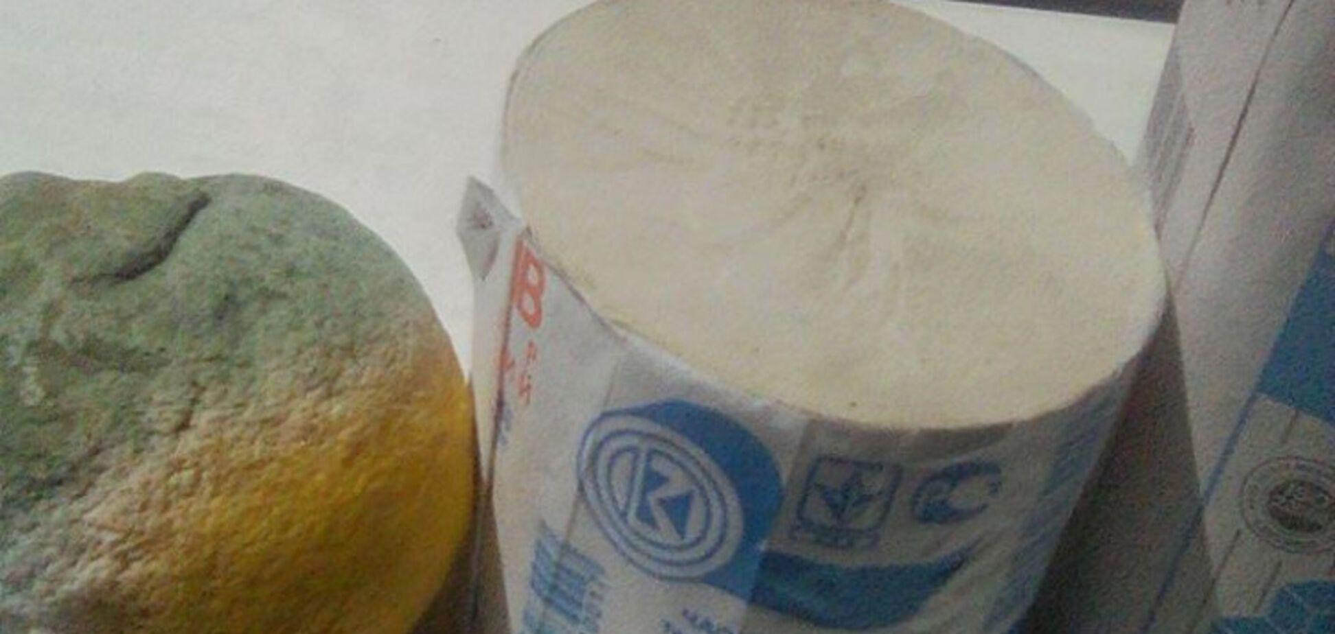 В Одессе бывшим политзаключенным раздали пайки с гнилыми продуктами. Показательное фото