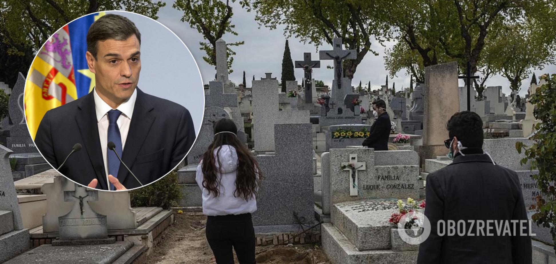 Обвиняют власть в смертях родственников: тысячи испанцев обратились в суд из-за COVID-19