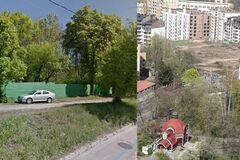 В Киеве ради церкви мормонов уничтожили сквер