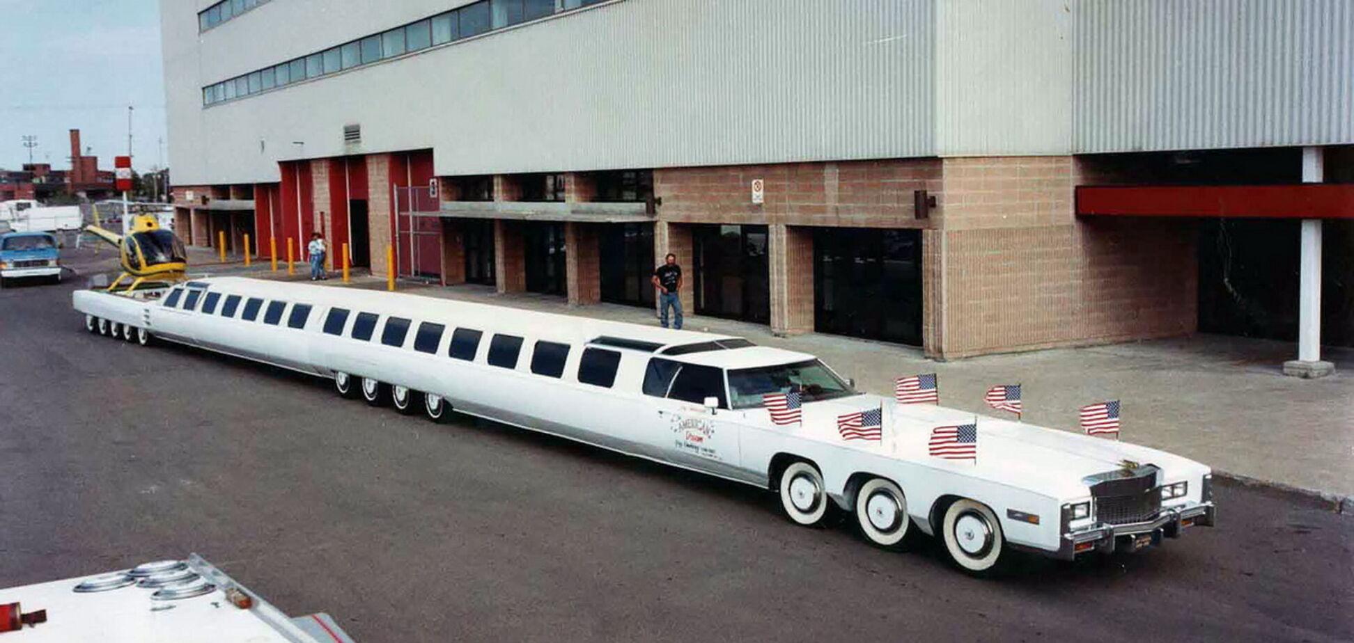Найдовший автомобіль в світі повернуть до життя