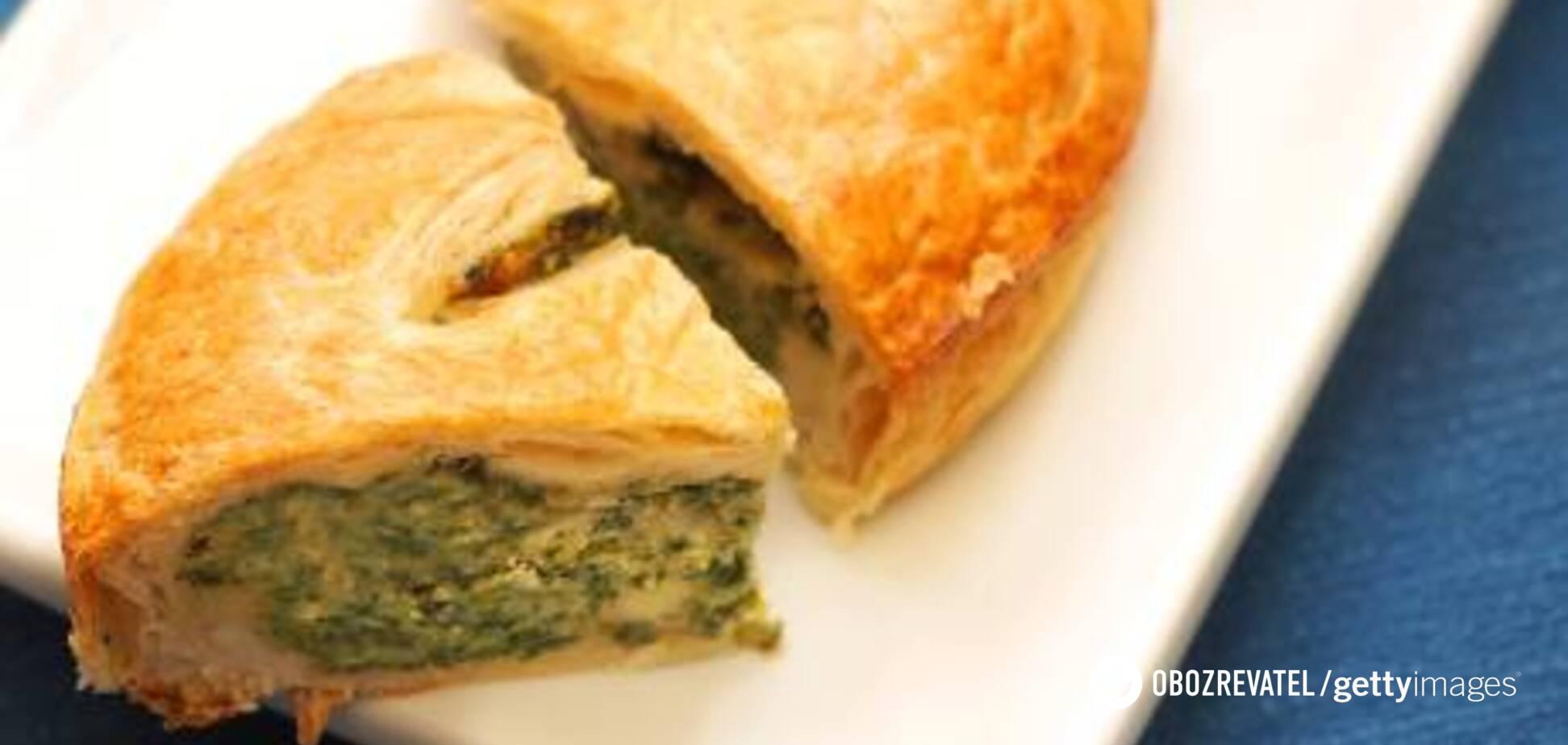 Лосось, рикотта і трохи фантазії: рецепт незвичайного пирога