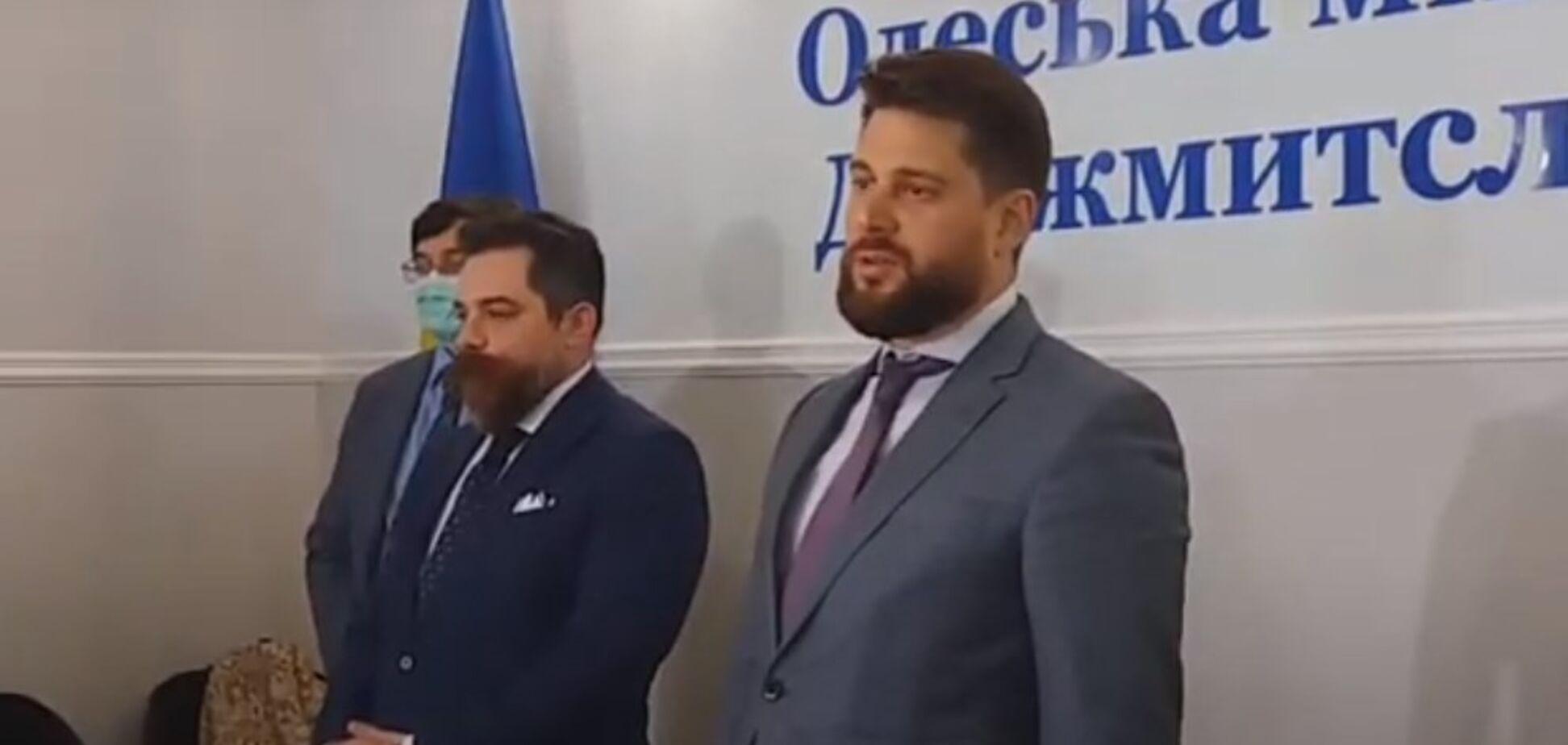 Глава Одесской таможни появился на публике и рассказал о его 'задержании'. Видео