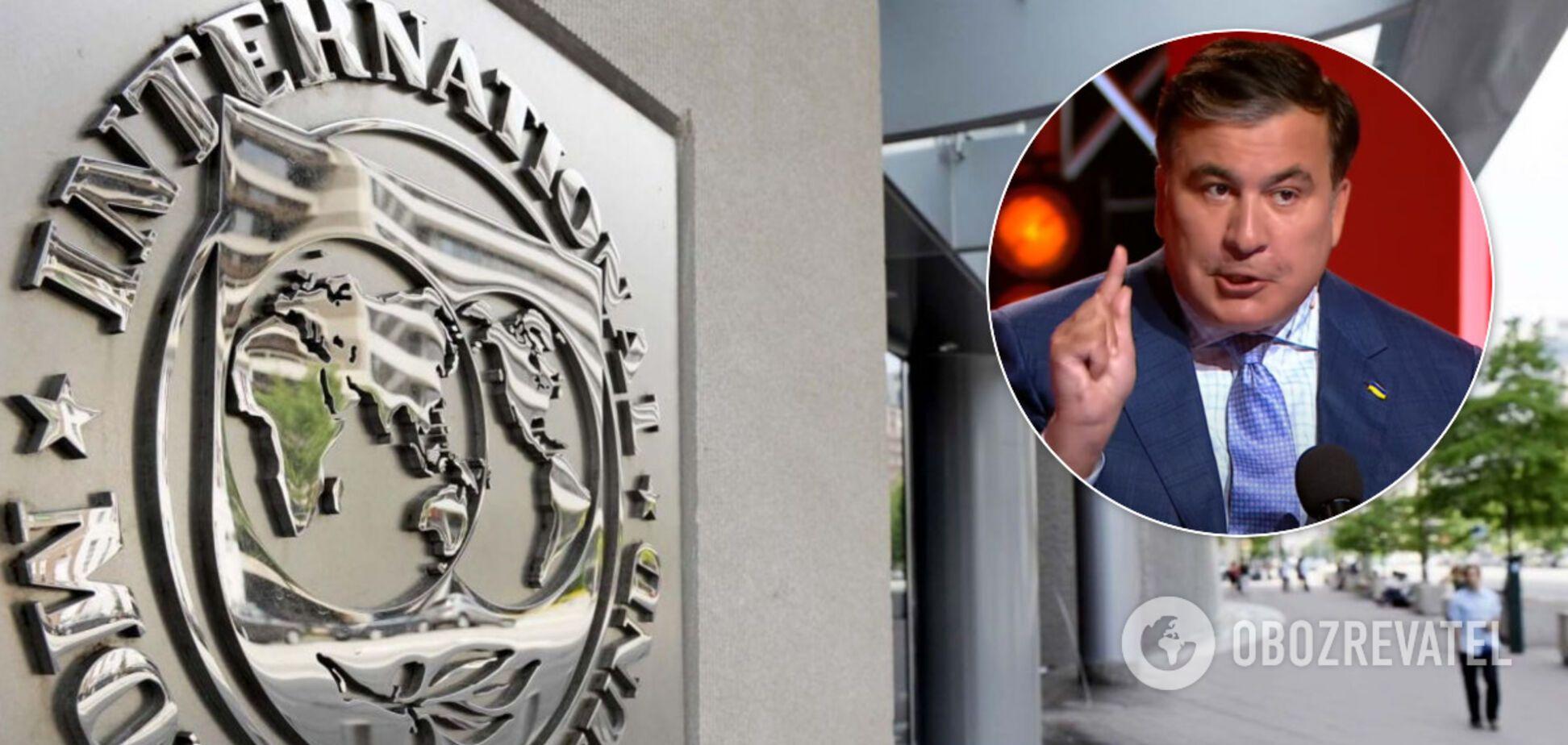 Саакашвілі хоче розірвати угоду України з МВФ