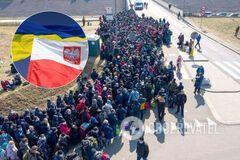 У Польщі владу підловили на брехні про кількість українців, які покинули країну