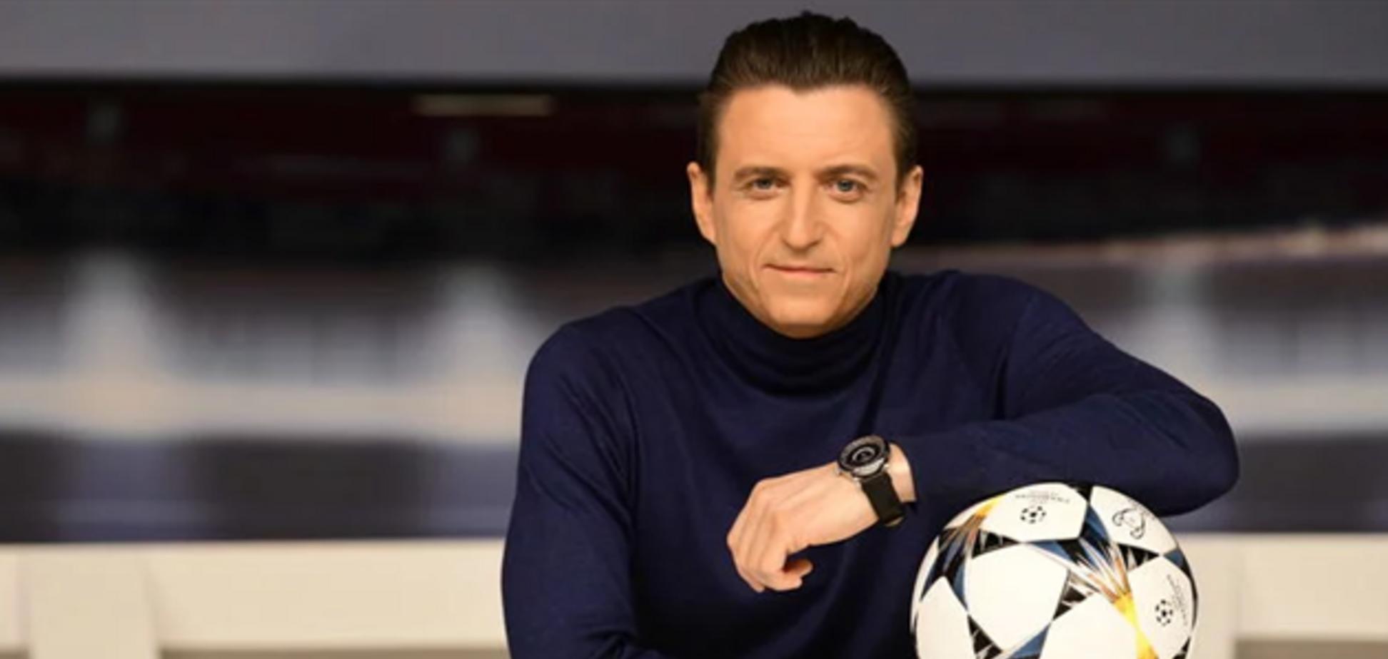 'Стоїть під горлом': ведучий 'Великого футболу' Олександр Денисов заявив про плани перейти на українську мову