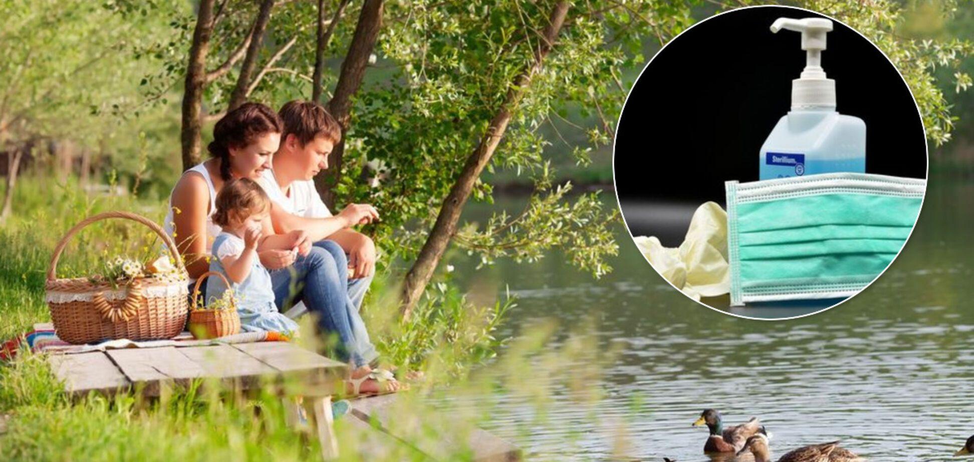 Антисептик, маски и игра для детей: Супрун дала важные советы, как не заразиться COVID-19, отдыхая на природе