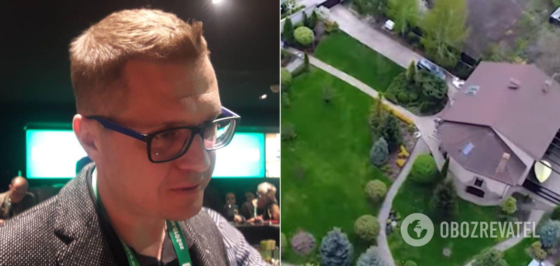Журналісти знайшли будинок Баканова під Києвом