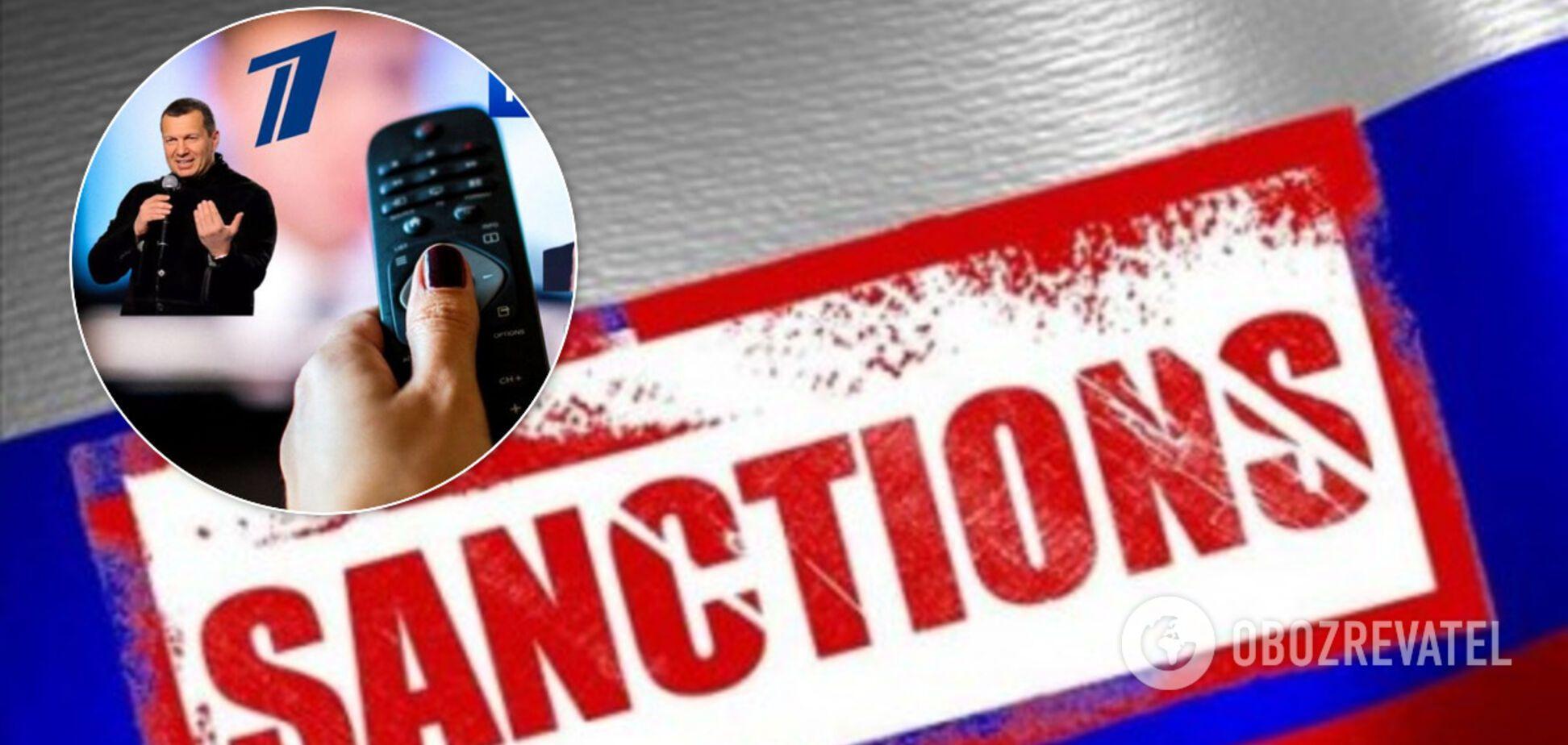 СНБО продлил на 3 года санкции против российских телеканалов: список пропагандистов