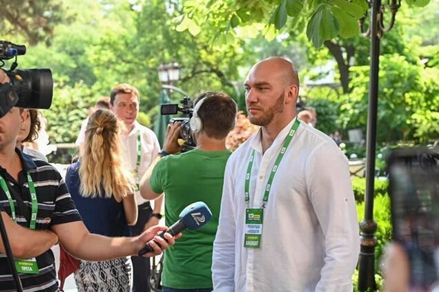 Депутат из Одессы осудила действия 'Слуги народа' Леонова