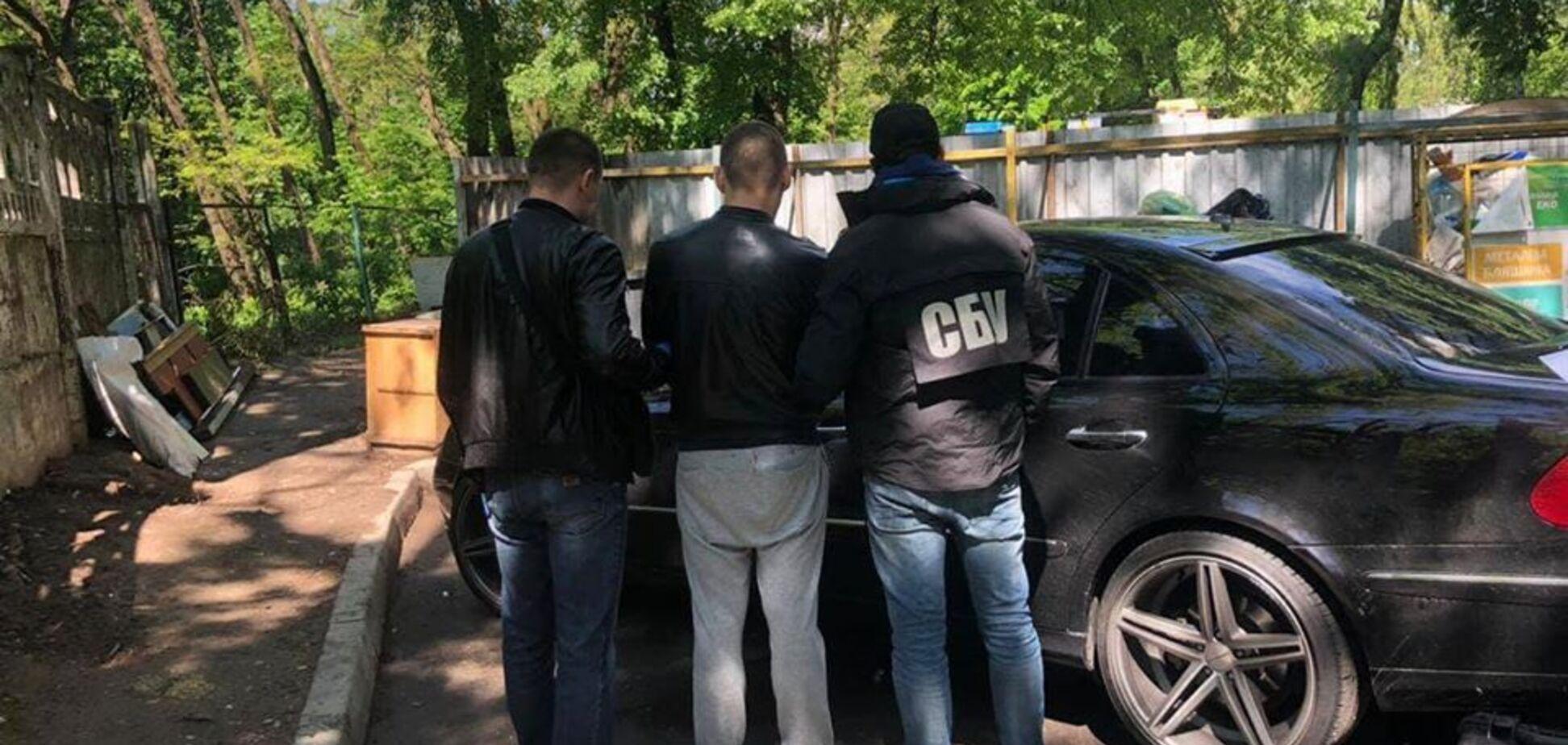 У Києві упіймали наркодилера з кокаїном на 75 тисяч доларів. Фото