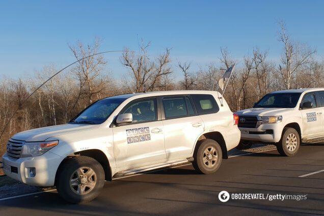 Найманці РФ обстріляли спостерігачів ОБСЄ на Донбасі