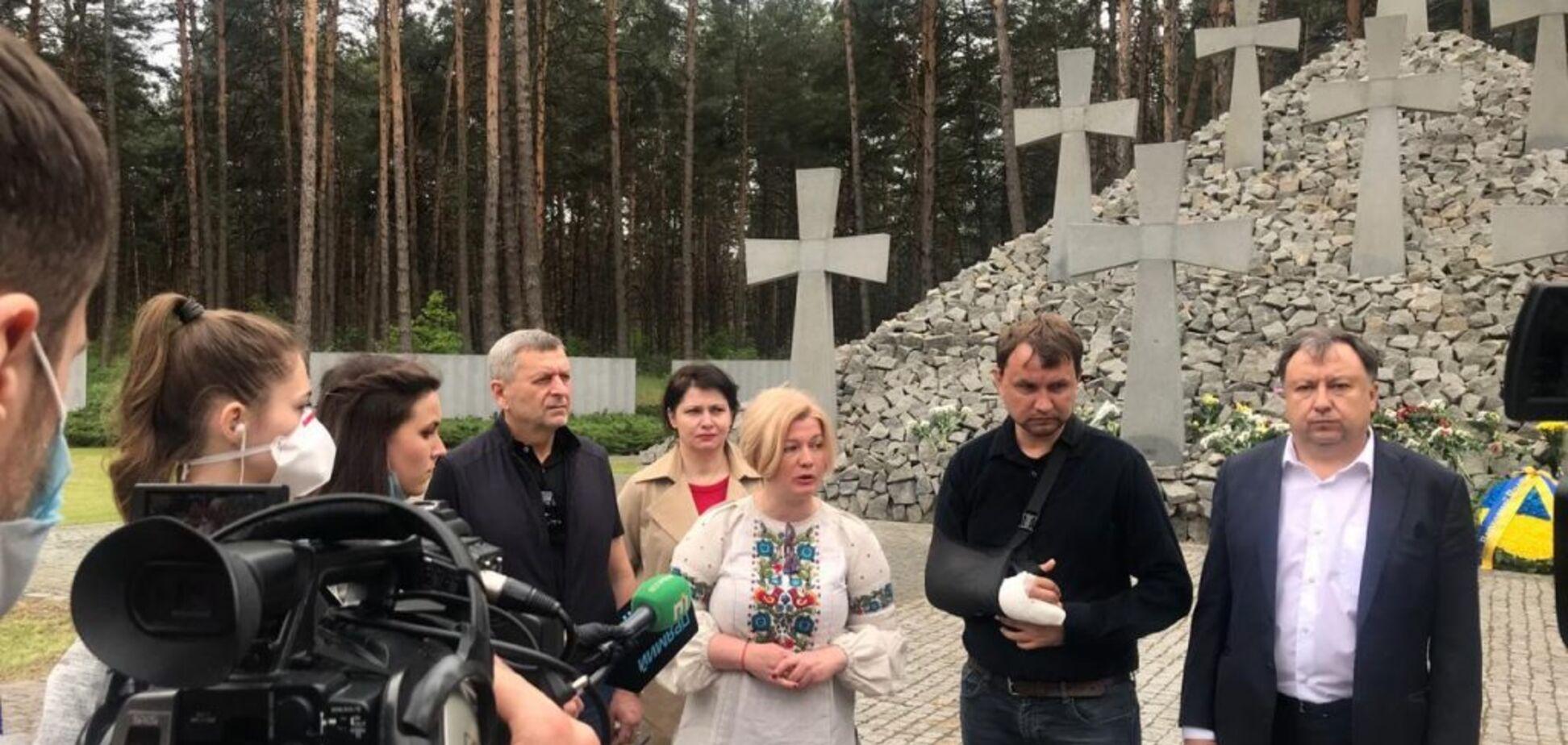 Депутаты от ЕС почтили память жертв политрепрессий и обратились к Зеленскому