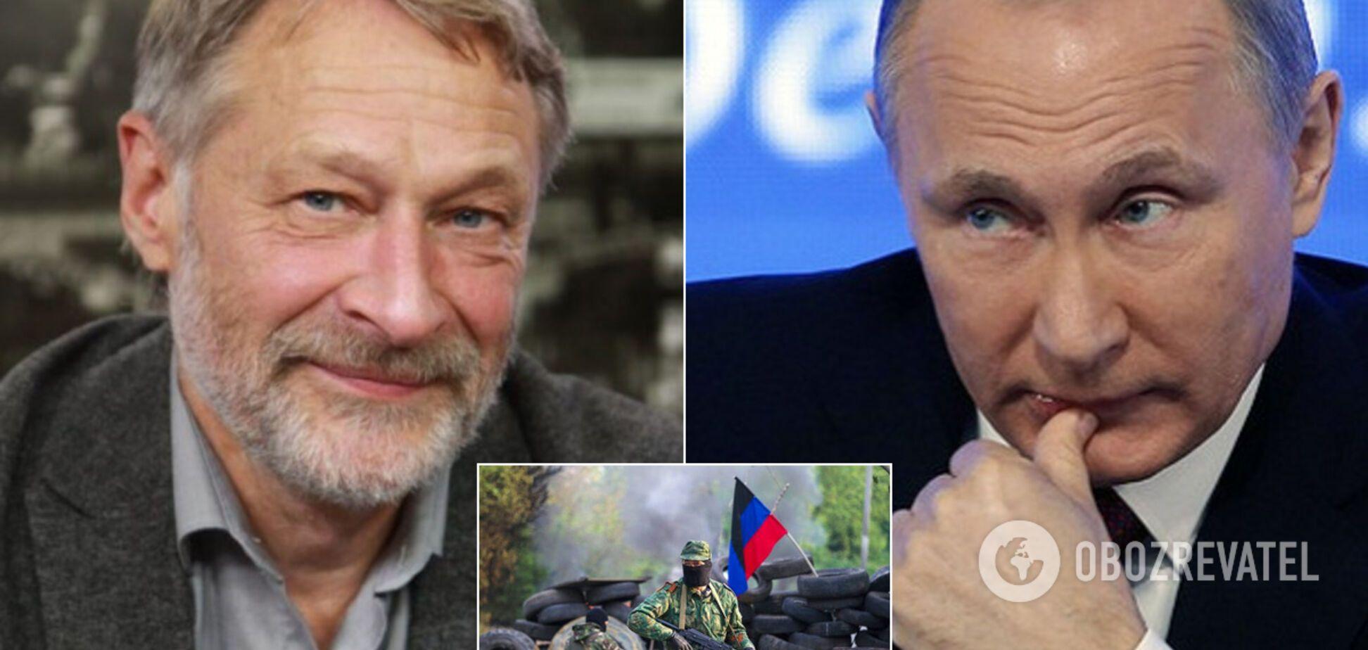 Відомий політексперт заявив, що у Путіна немає ресурсів для нападу на Донбасі