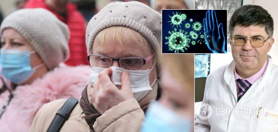 Иммунолог озвучил печальные перспективы по COVID-19 для Украины