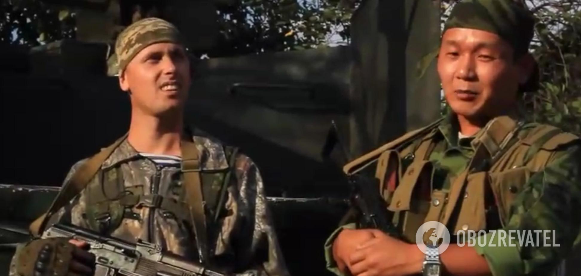 Російські військові на Донбасі: в мережі показали нові докази. Відео