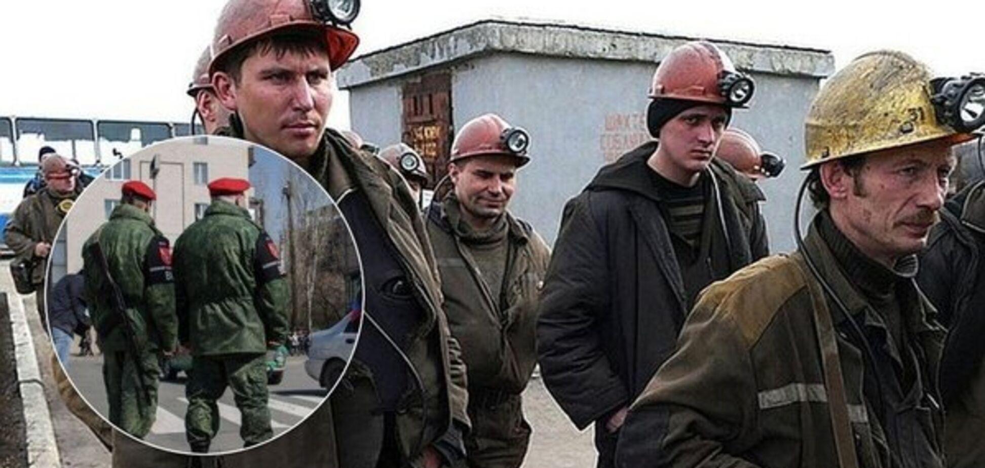 В 'ЛНР' після бунту шахтарів через зарплату закрили шахту