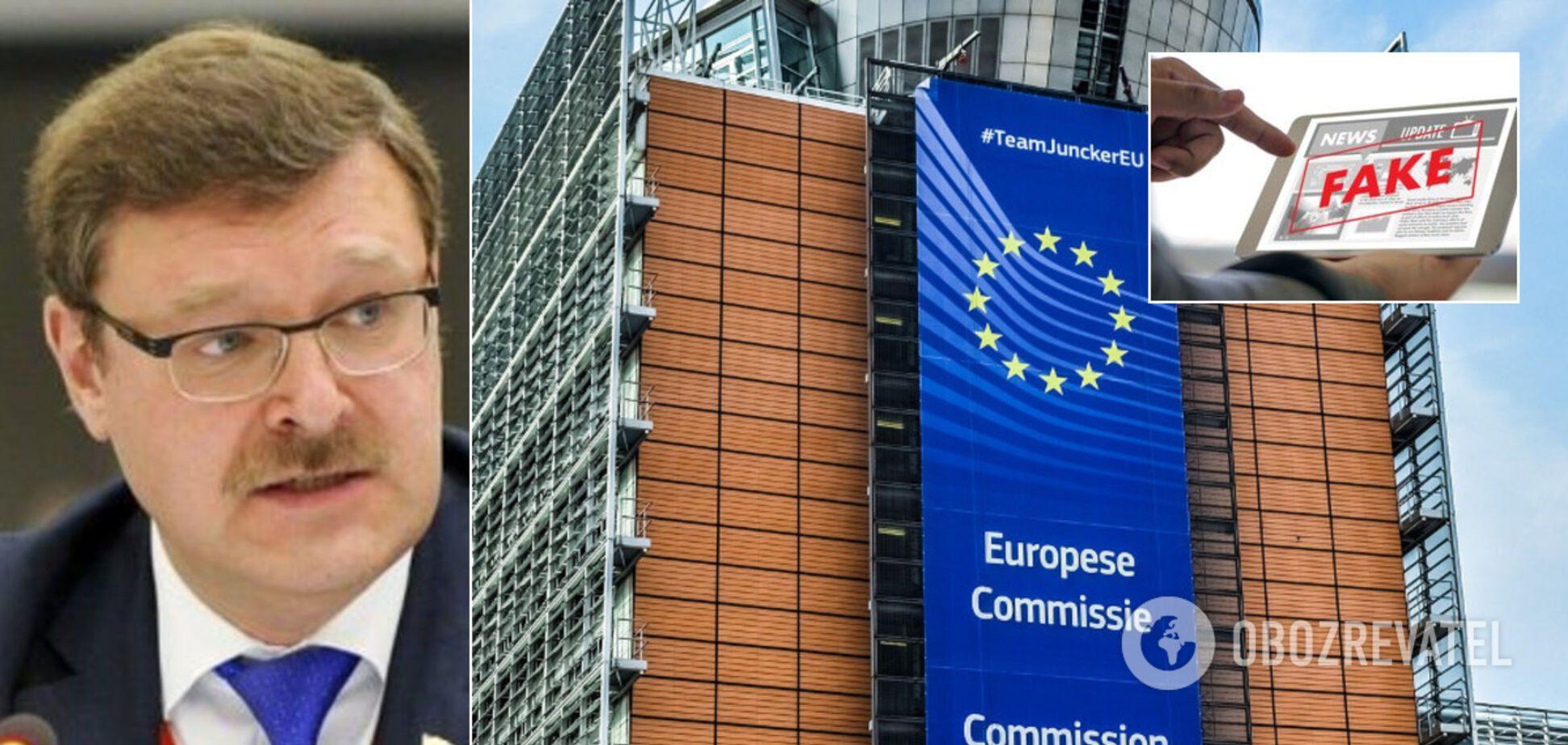 Россия обвинила Европу в 'гибридной войне'