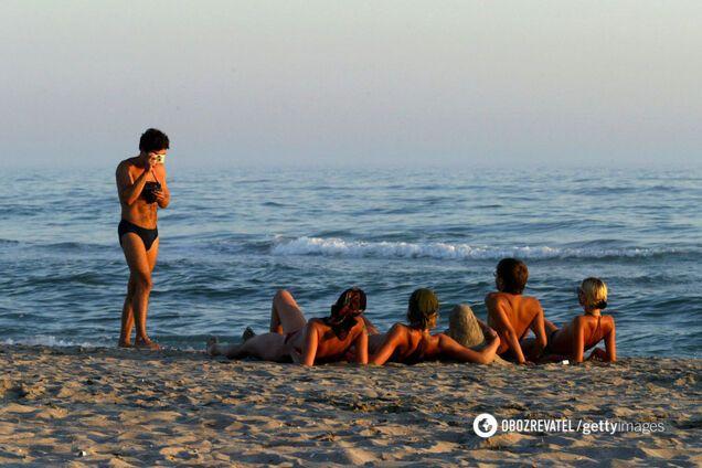 Пляжі в Україні