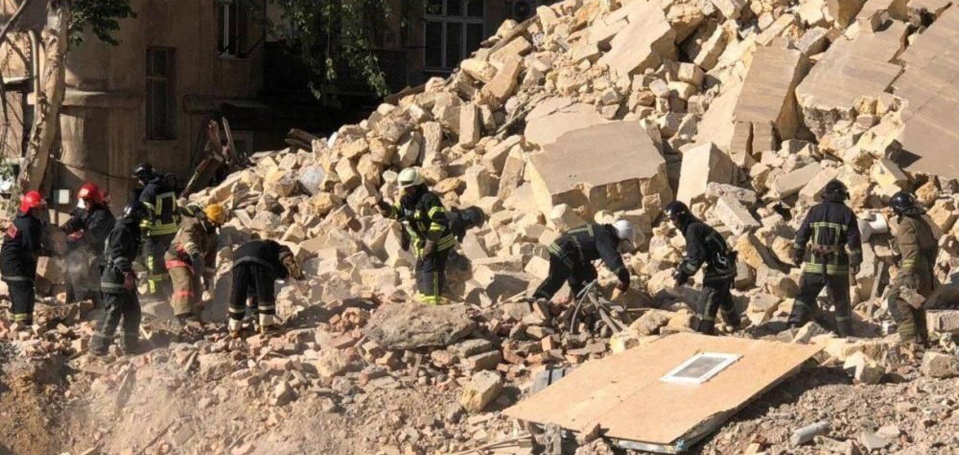 Полиция назвала возможную причину обвала дома в Одессе