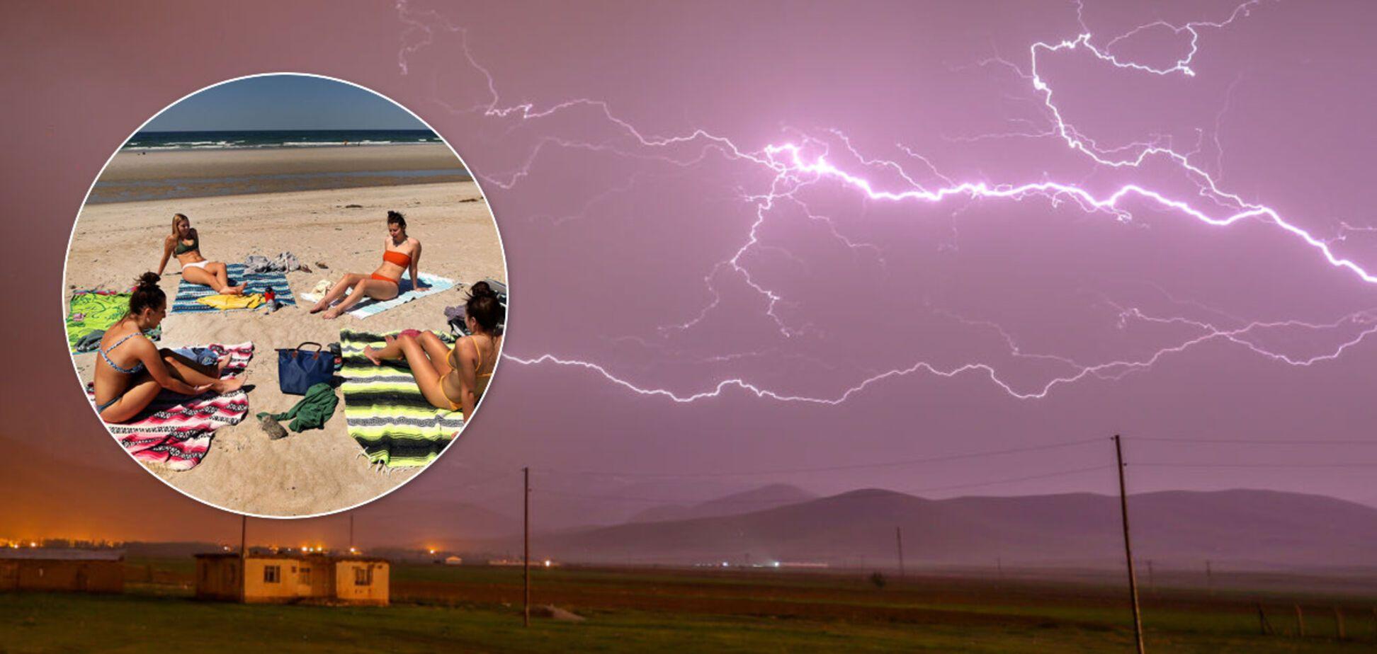 В Украину вернется лето 2001 года с ураганами, градом и жарой. Эксклюзивный прогноз