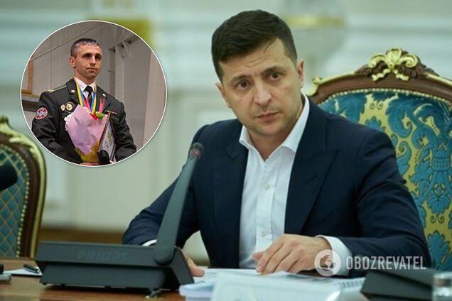 Зеленський призначив главою Центру спецоперацій у боротьбі з тероризмом Сергія Дусика