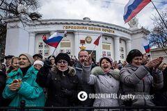 Россия заявила об 'окончательной' принадлежности Крыма