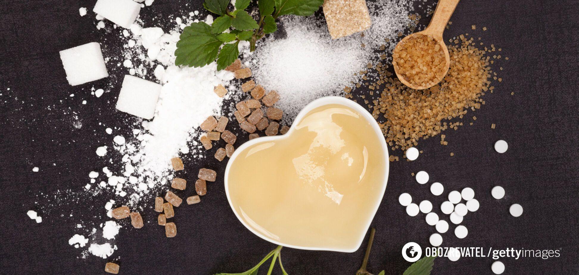 Замінники цукру: вчені озвучили несподівані результати досліджень