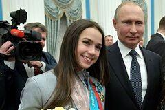 Олімпійська чемпіонка Аліна Загітова, з якою порушив закон Путін, показала телеграму від нього