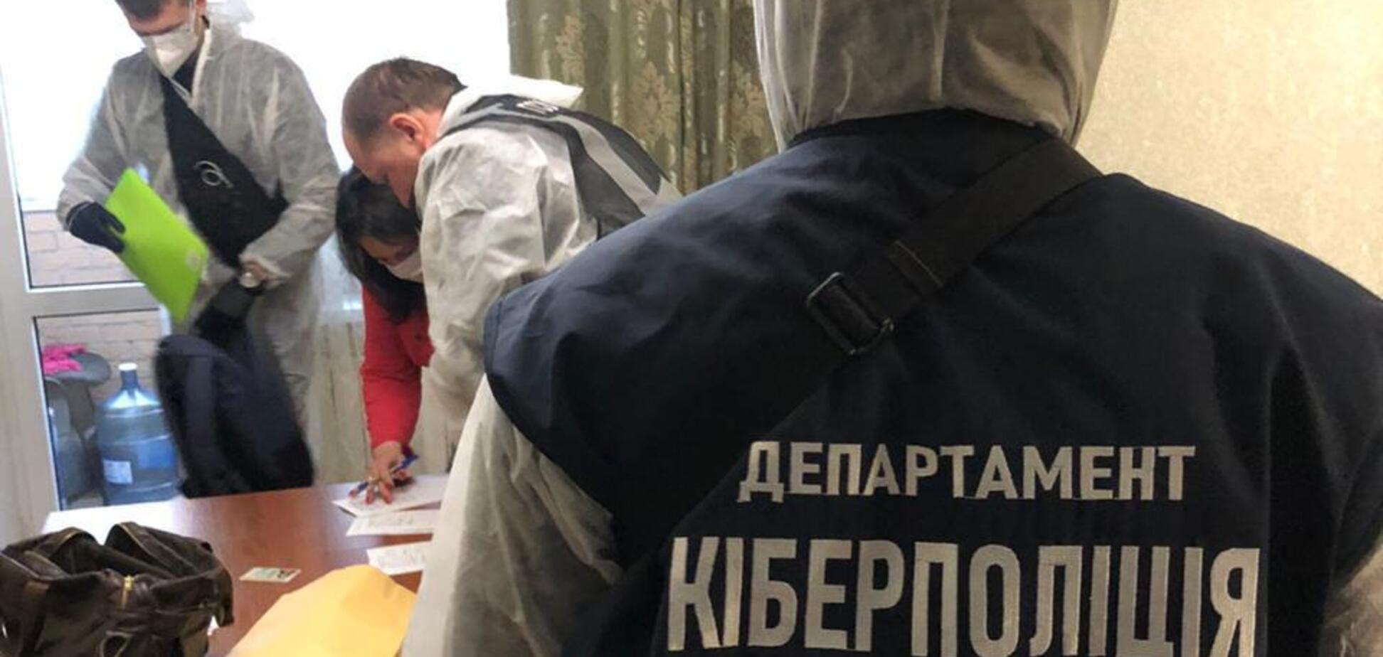 На Дніпропетровщині викрили мережу 'коронавірусних' інтернет-шахраїв. Відео