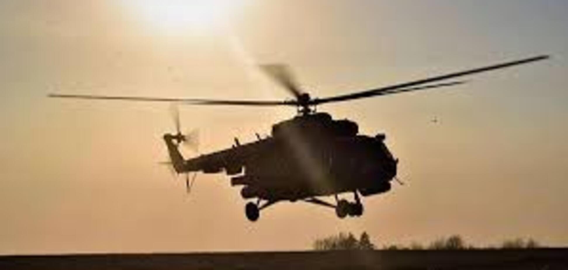 У Дніпро військовим вертольотом із зони ООС евакуювали поранених бійців