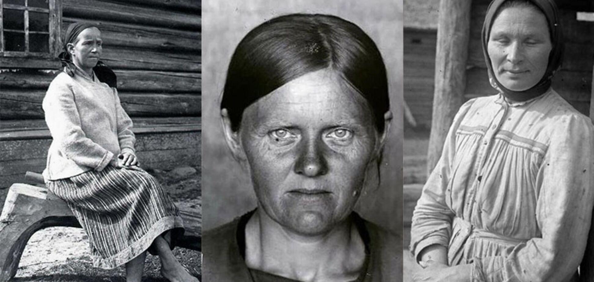 Как выглядели 35-летние женщины 100 лет назад