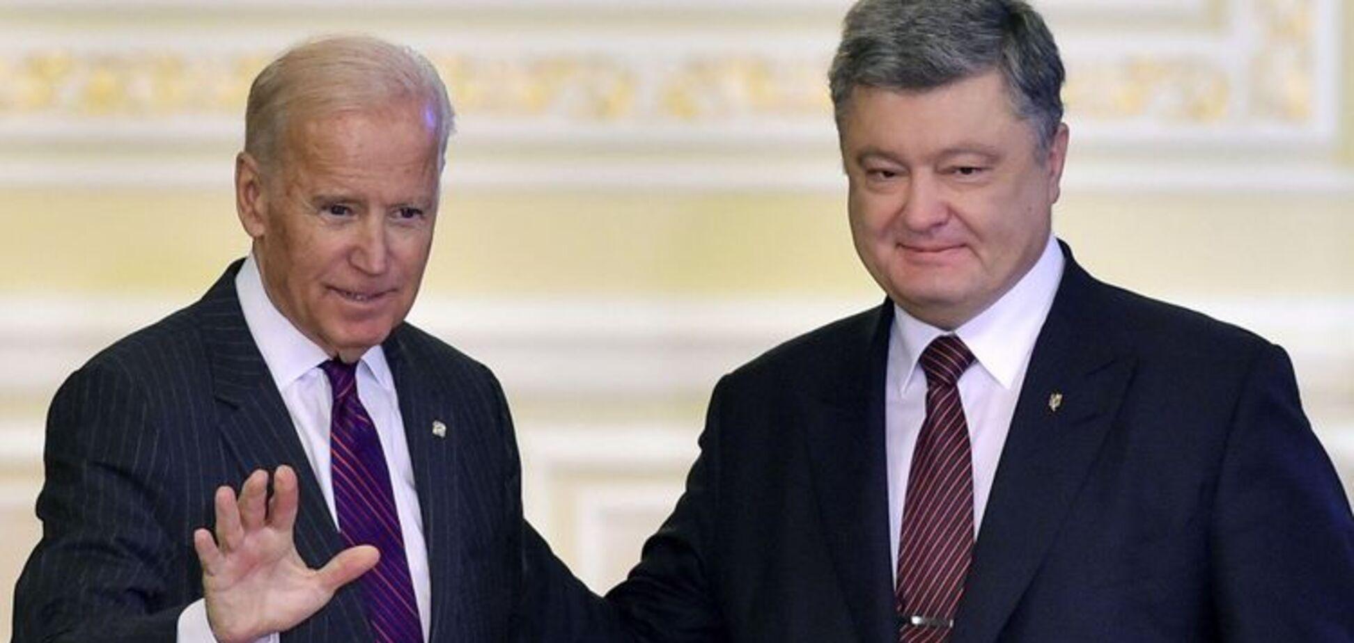 Пленки Порошенко-Байдена: деньгами, без анализа, изменить Украину невозможно