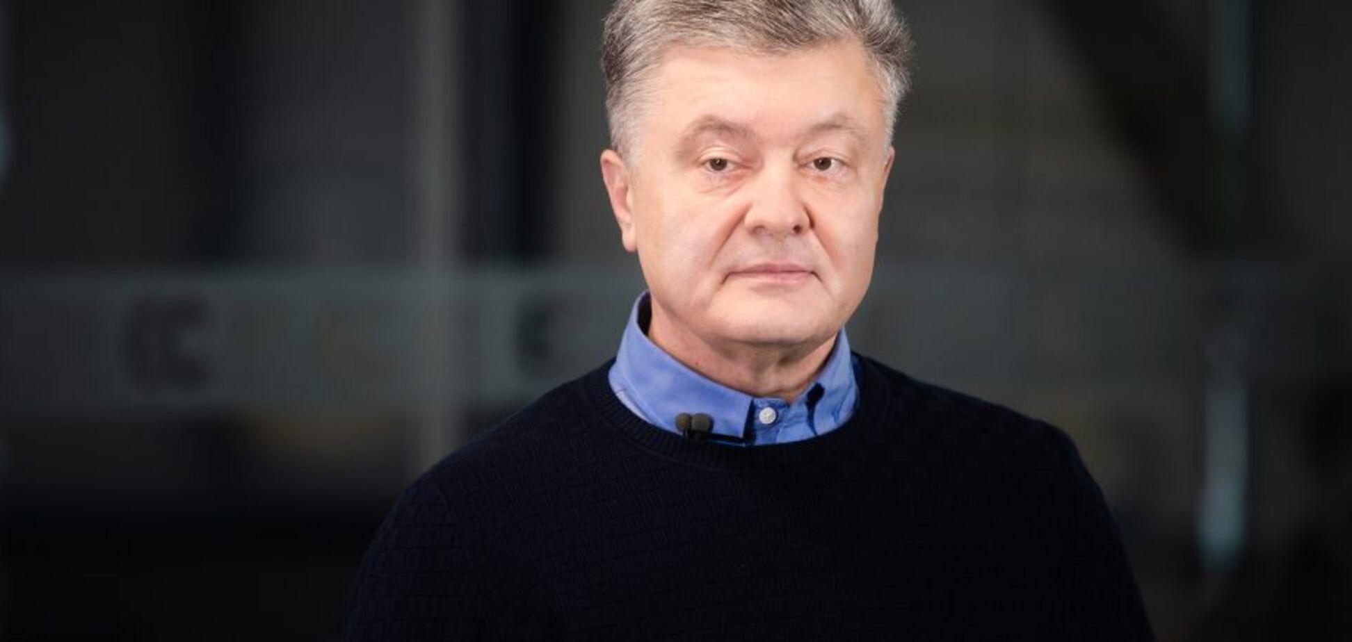 Порошенко про 'плівки Деркача': п'ята колона Кремля розпочала масштабну спецоперацію проти України