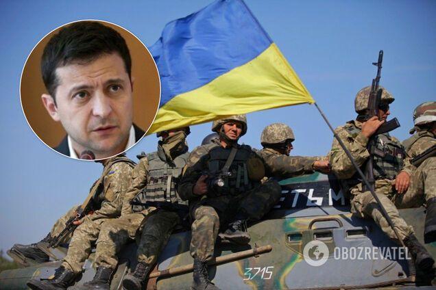 Зеленский сказал, что не призывал прекратить стрелять на Донбассе