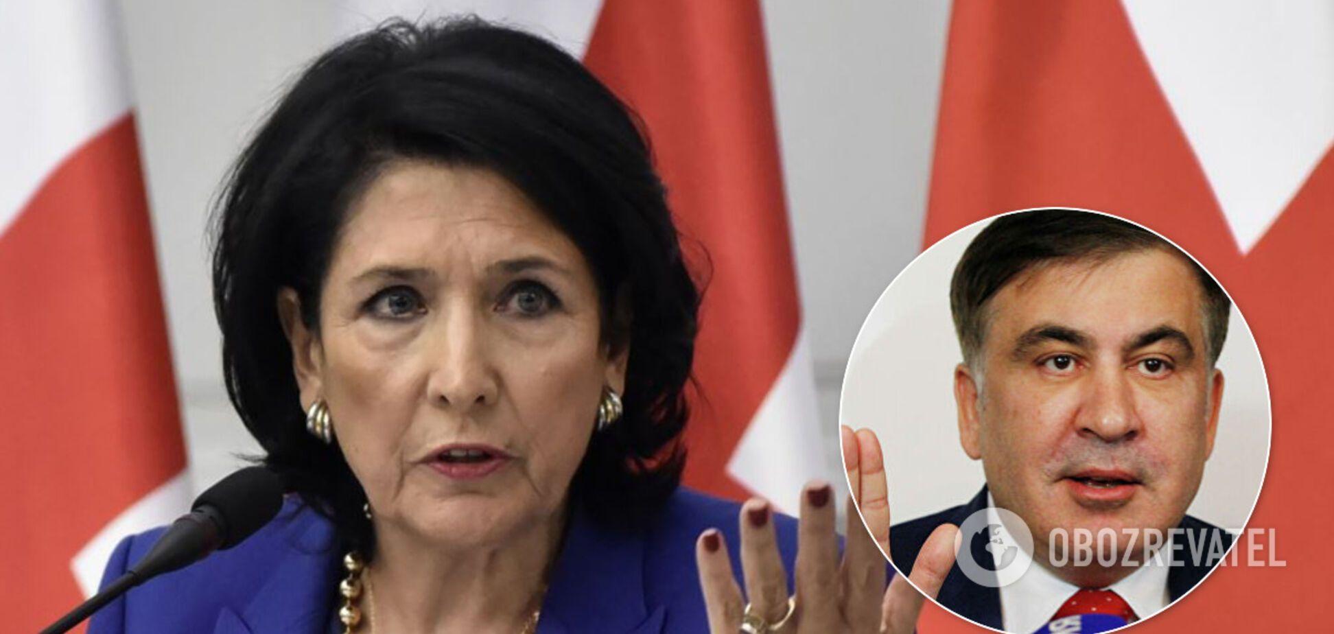 Президент Грузии отреагировала на новую должность Саакашвили в Украине