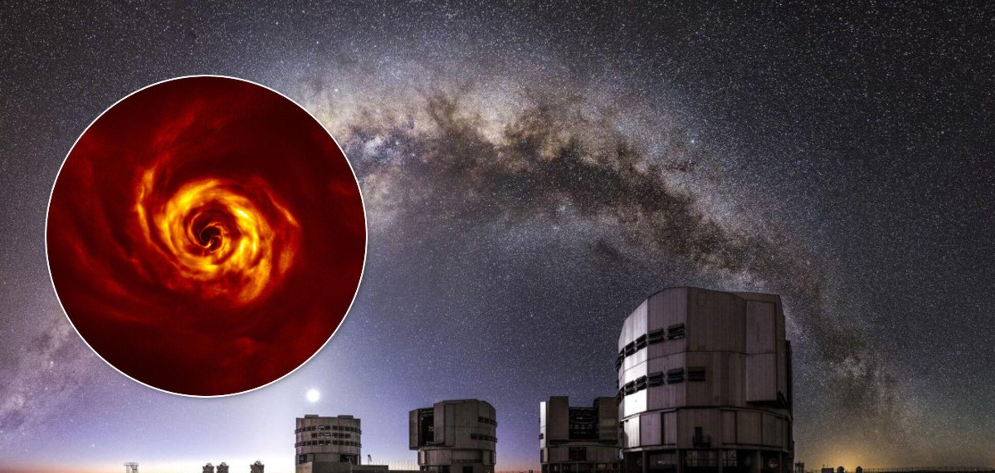 Європейські астрономи зафіксували народження нової планети. Вражаючі фото