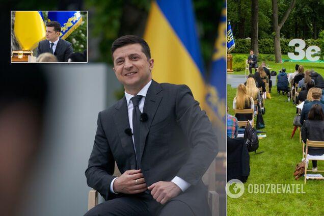 Пресконференція Зеленського до року президентства