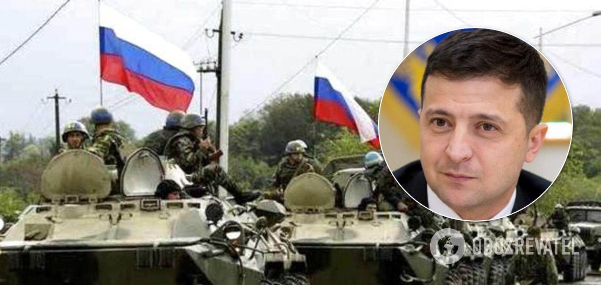 Зеленский признал, что на Донбассе воюют россияне и стреляют в украинцев