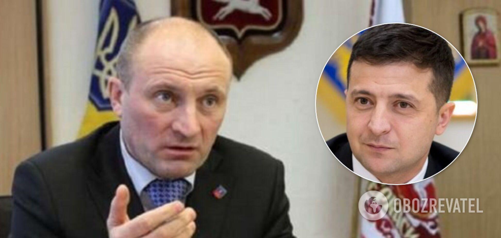 Зеленський назвав мера Черкас 'бандитом': той влаштував 'розбірки'