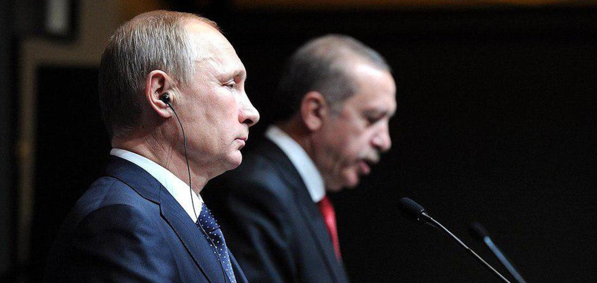 Эрдоган публично учит Путина хорошим манерам. Все началось еще в Сирии