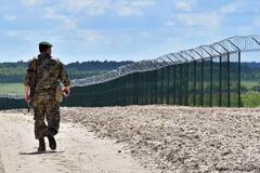 Завершення будівництва стіни на кордоні з Росією збираються перенести на 2025 рік