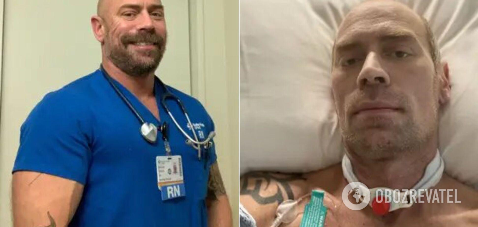 Заболевший коронавирусом бодибилдер-гей Майк Шульц показал последствия ИВЛ