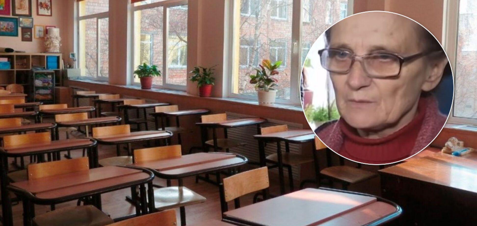 На Сумщині вчительку повернули на роботу після 'захоплення' дітей в заручники. У школі паніка, а влада відмовчується