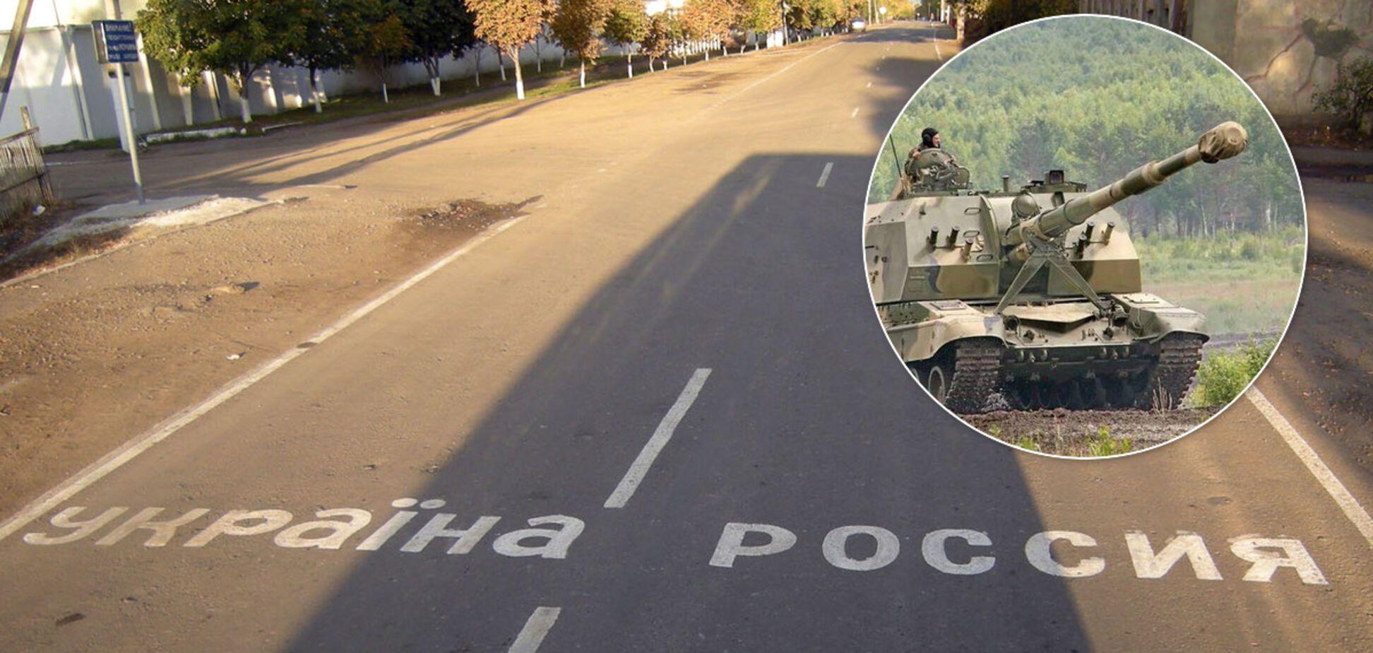 Россия привезла тяжелую артиллерию на границу с Украиной и Беларусью. Фото