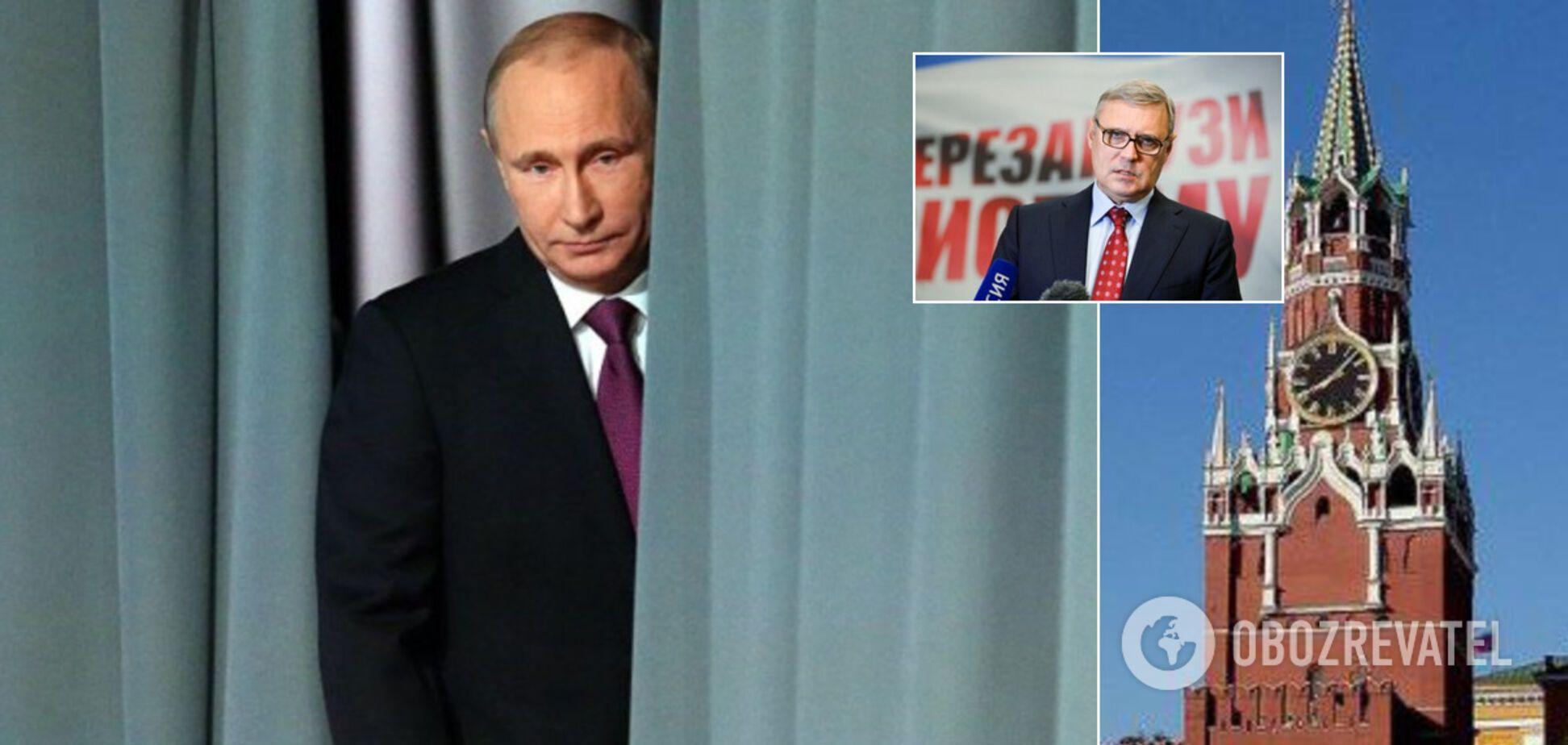 'Плани Путіна зруйновано. Це сильний удар, він переймається й не може змиритися'. Інтерв'ю з експрем'єром Росії