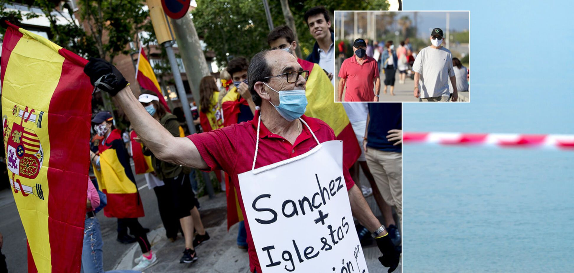 Как Испания выходит из карантина: с безработицей, протестами, но хорошей статистикой